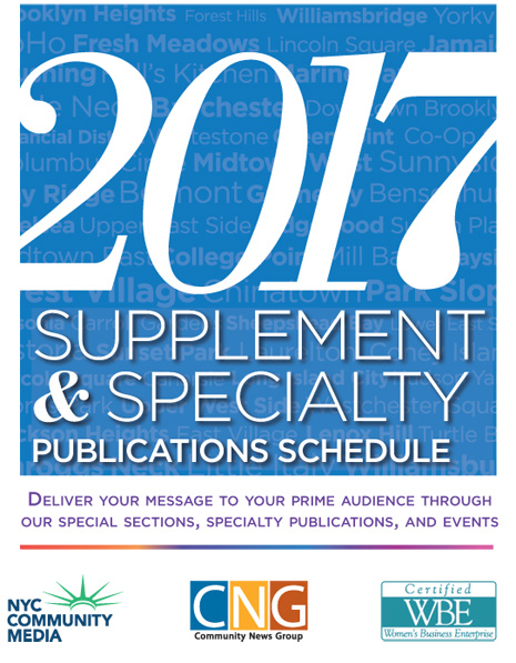 CNG 2017 Supplement and Specialty Publications Schedule