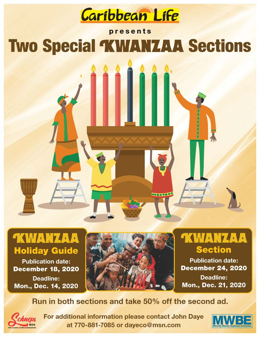 Caribbean Life presents two special Kwanzaa sections for 2020