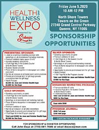 Health and Wellness Expo - Queens, NY - June 5, 2020
